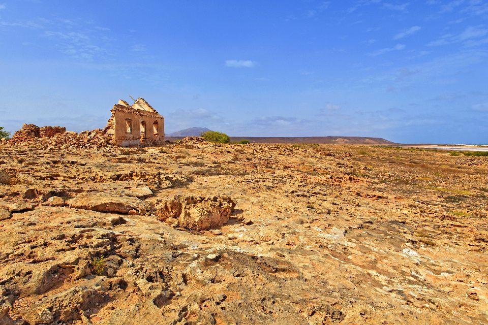 Isola di Sal: Buracona , Curral Velho lato deserto , Capo Verde