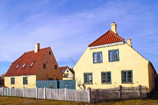 Le Sjaelland , Plage isolée de Seeland , Danemark