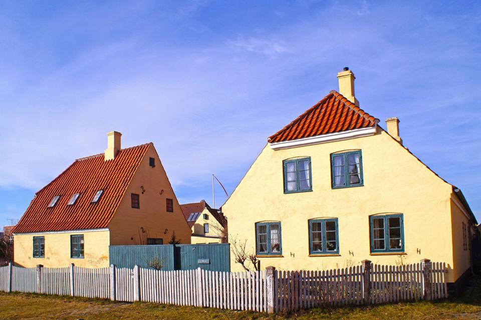 Lo Sjaelland , Spiaggia isolata di Seeland , Danimarca