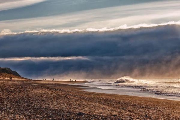 La península de Jutlandia , La playa de la península de Jutlandia , Dinamarca