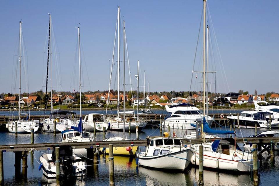 La isla de Fionia , El puerto de la isla de Fionia , Dinamarca