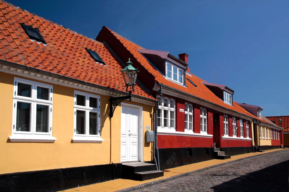 L'isola di Bornholm , Danimarca