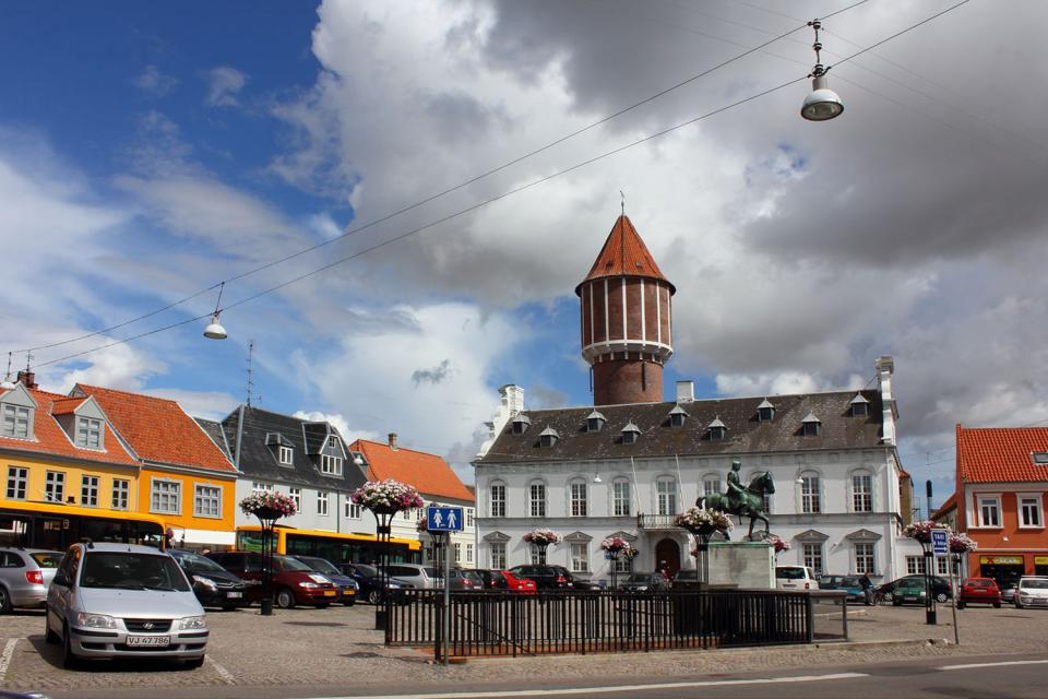 L'isola di Lolland , Danimarca
