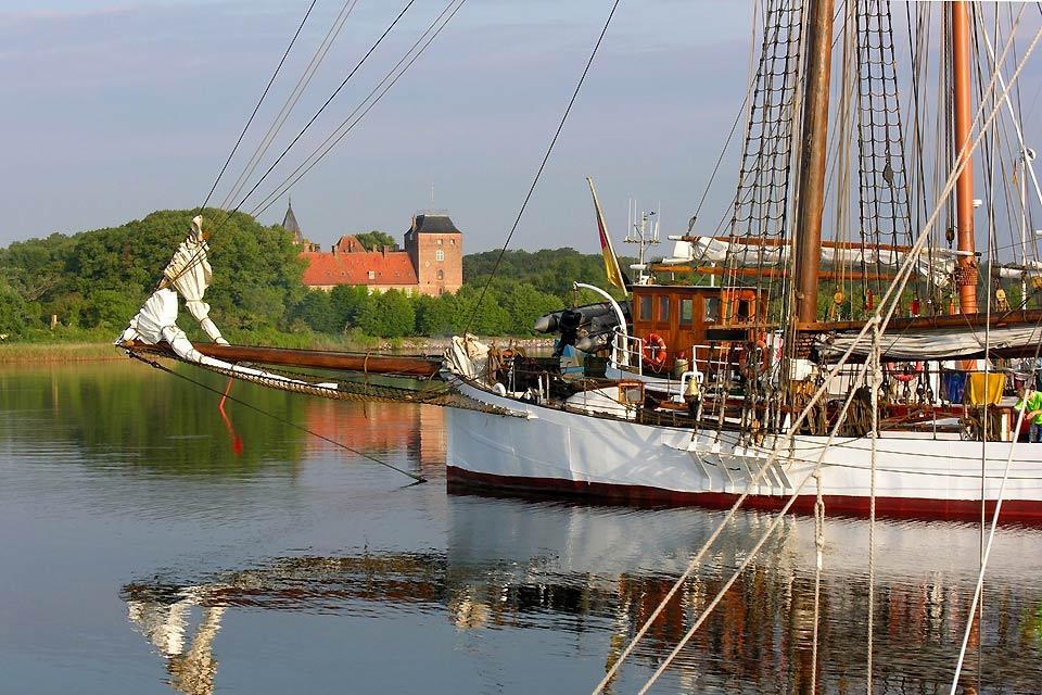 L'isola di Lolland , Abitazione danese tipica , Danimarca