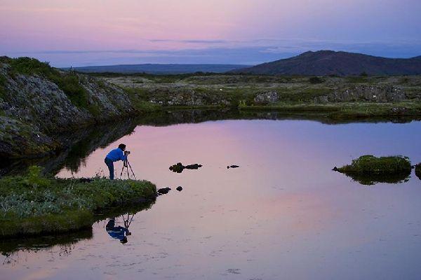 L'osservazione degli uccelli , L'osservazione degli uccelli, Islanda , Islanda