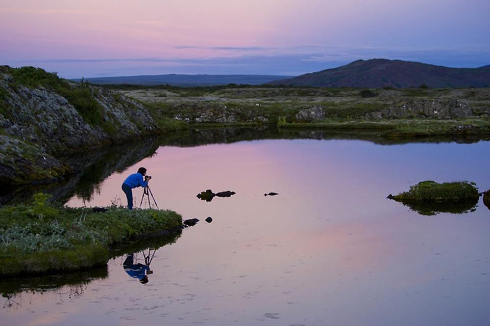 La observación de aves , Islandia