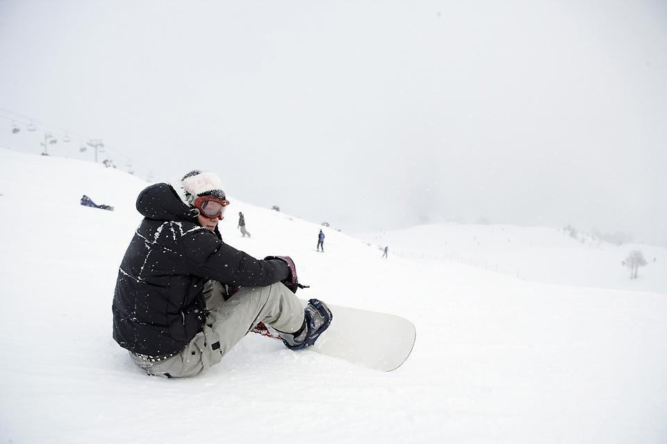 Skiing , Snowboarding in Iceland , Iceland
