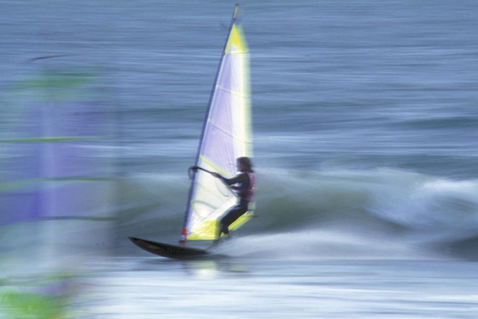 Water activities , Windsurfing in Iceland , Iceland