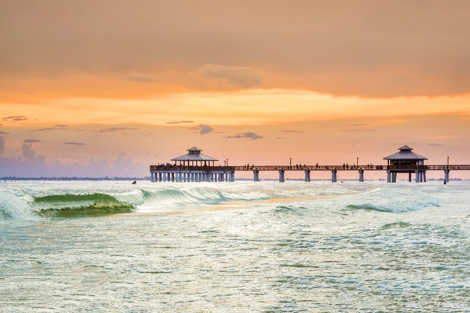 Estero Island beach, Estero Island, Islands, Florida