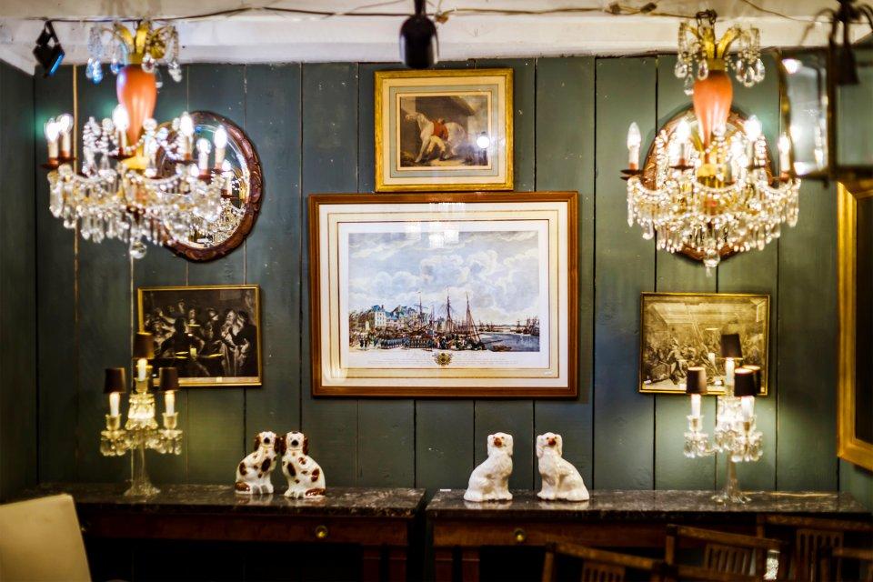 Die Antiquitäten, Das Shopping, Belgien