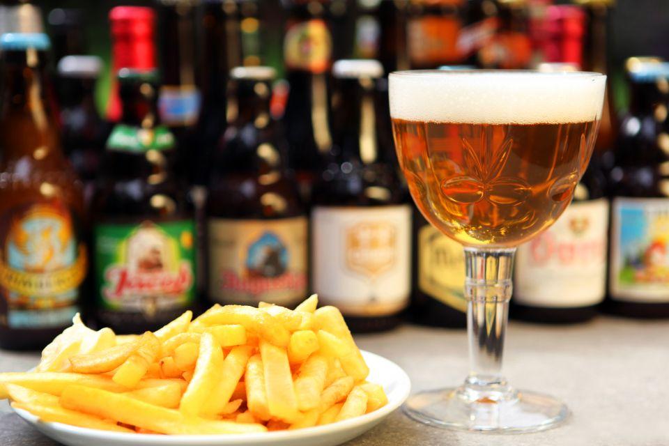 La cerveza, Ir de compras, Bélgica