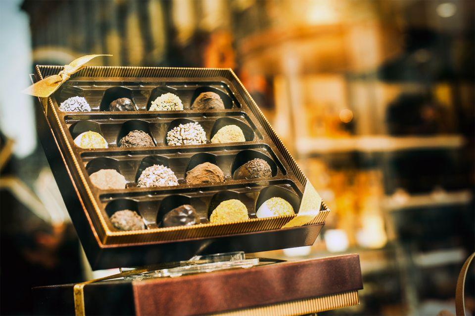 I piaceri gastronomici del Belgio, Il cioccolato, Lo shopping, Belgio