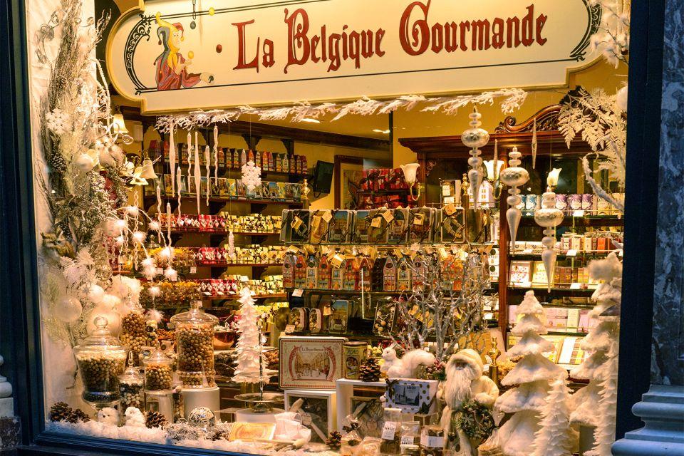 Cioccolatini ripieni, Il cioccolato, Lo shopping, Belgio