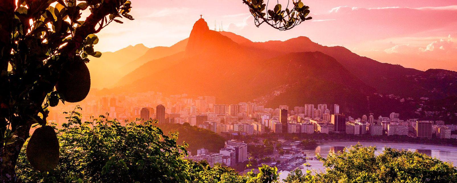 Il Corcovado , La montagna del Corcovado , Brasile