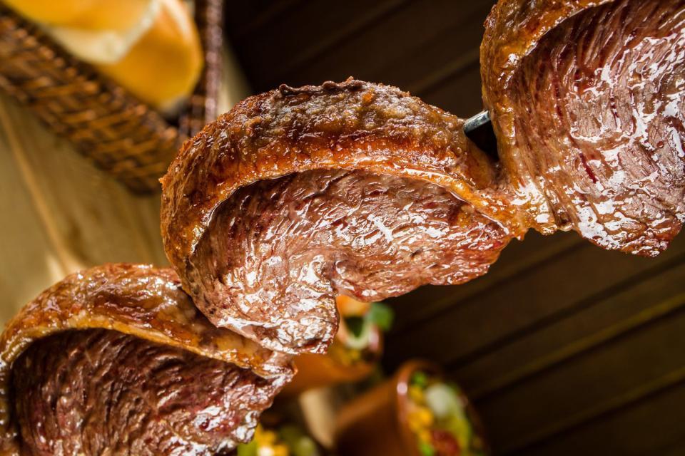 Las churrasquerías , Un delicioso churrasco , Brasil