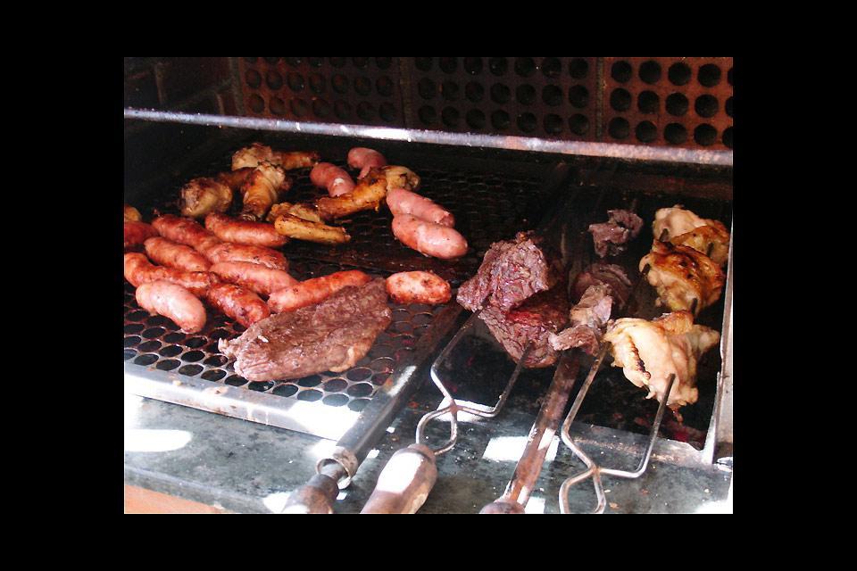 Las churrasquerías , Surtido de carnes , Brasil