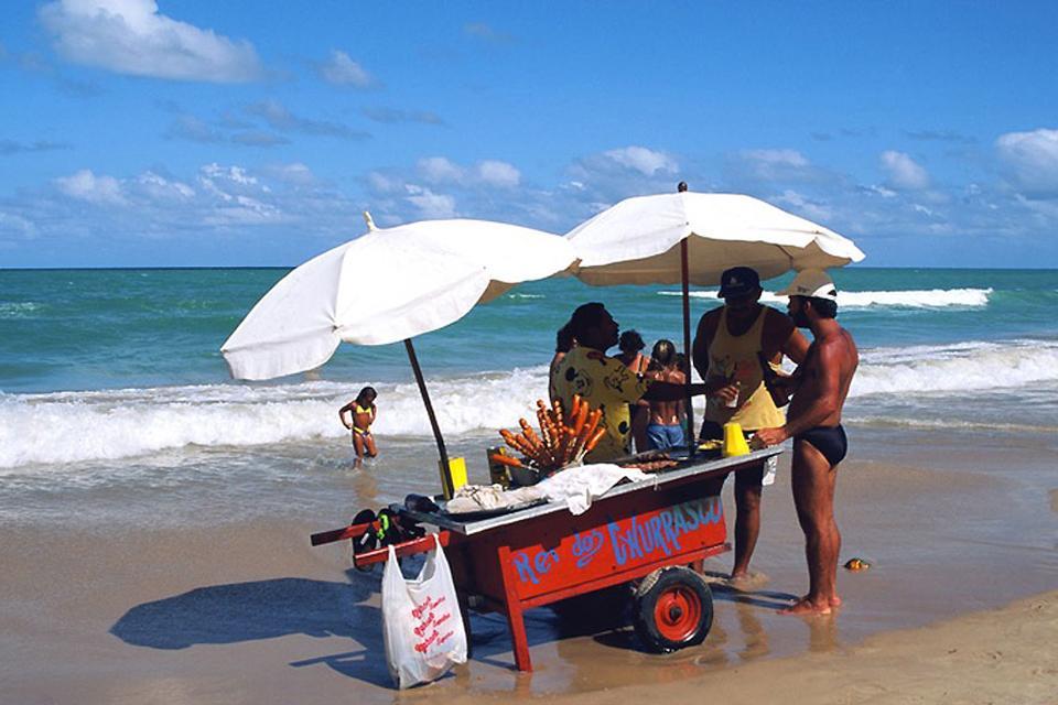 Las churrasquerías , La fiesta de la carne , Brasil