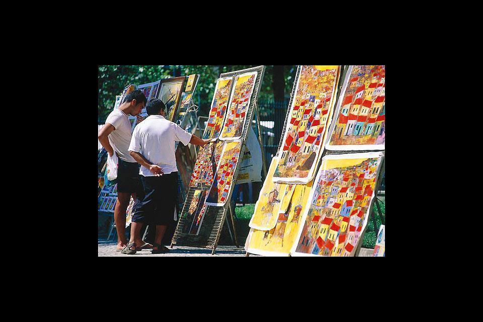 Las pinturas contemporáneas , La pintura contemporánea , Brasil