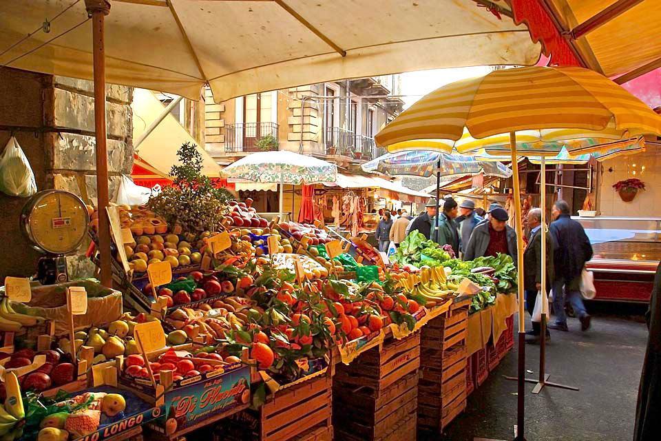 Die Märkte , Die sizilianischen Märkte , Italien