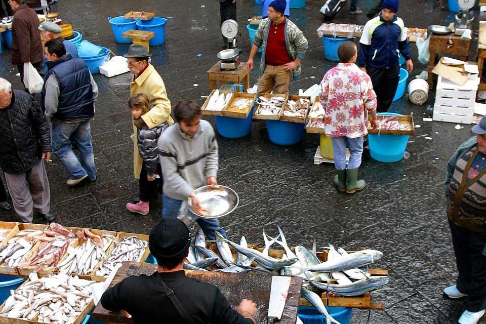 Die Märkte , Die Fischmärkte , Italien