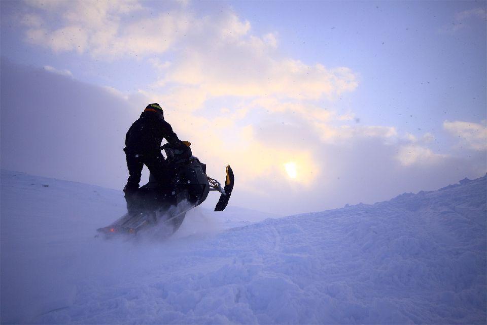 Safaris en motoneige , Une aventure , Finlande