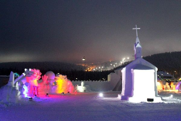 Il castello di neve , Fortezze di ghiaccio , Finlandia