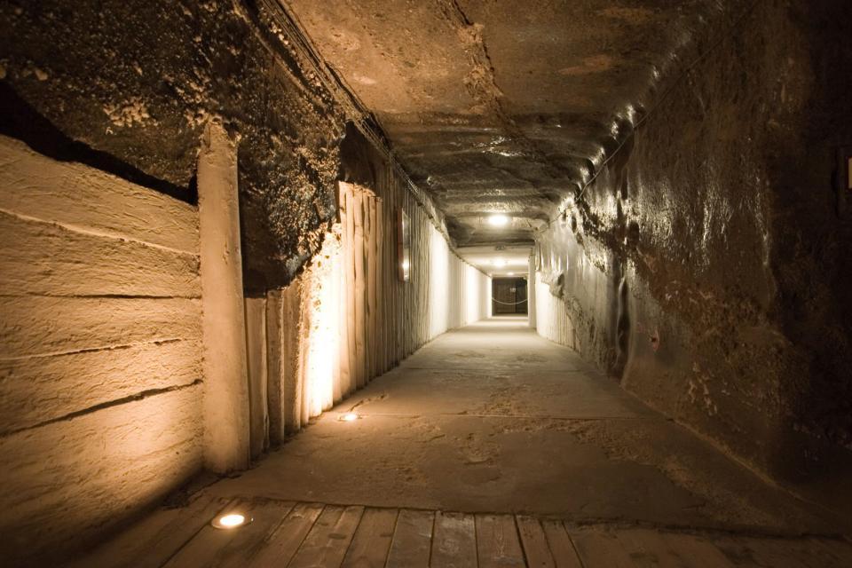 Wielicza salt mines , Wieliczka salt mine , Poland