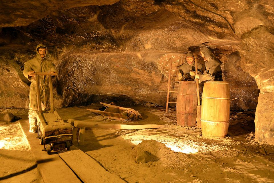 Wielicza salt mines , Poland