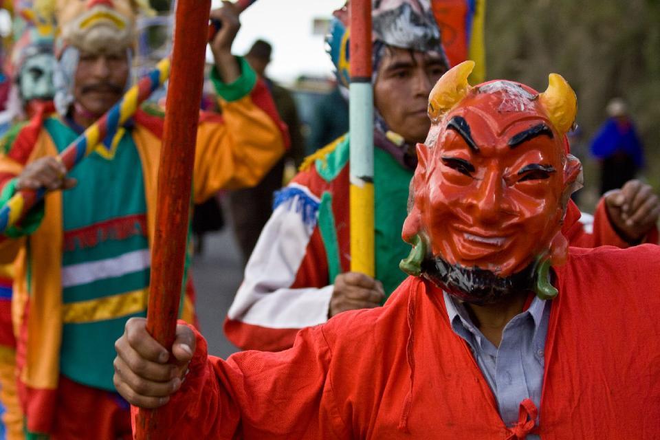 Inti Raymi à Sacsayhuaman , Festa dell'Inti Raymi, Perù , Perù