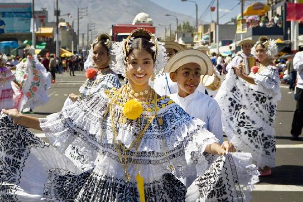 Music and dances , Peru
