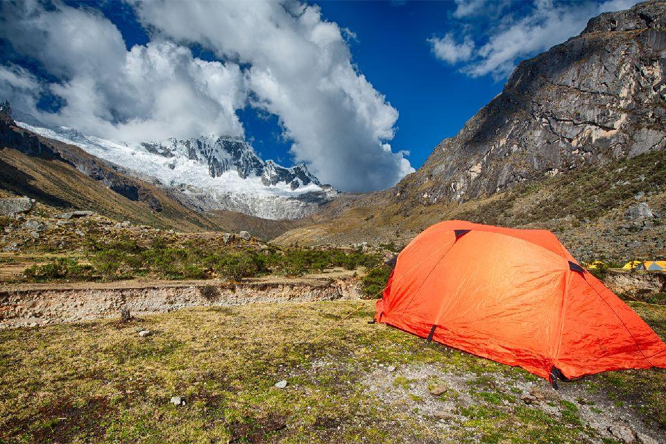 Il trekking Olleros , Chavin , Paesaggio andino , Perù