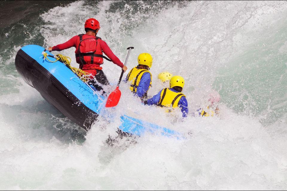 Rafting on the Colca river , Colca River, Peru , Peru