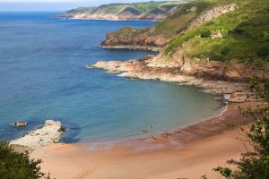 Las playas de Jersey , Reino Unido