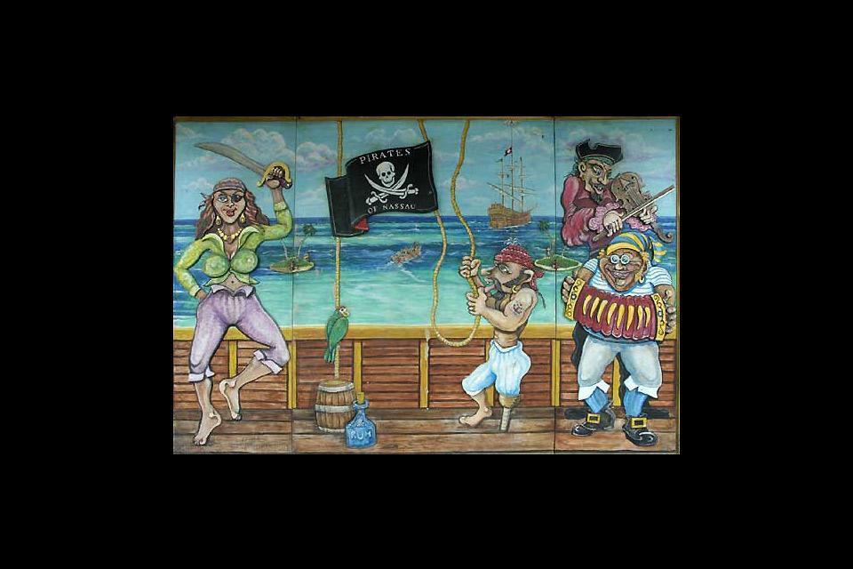 Pirates of Nassau , Il museo dei pirati , Bahamas