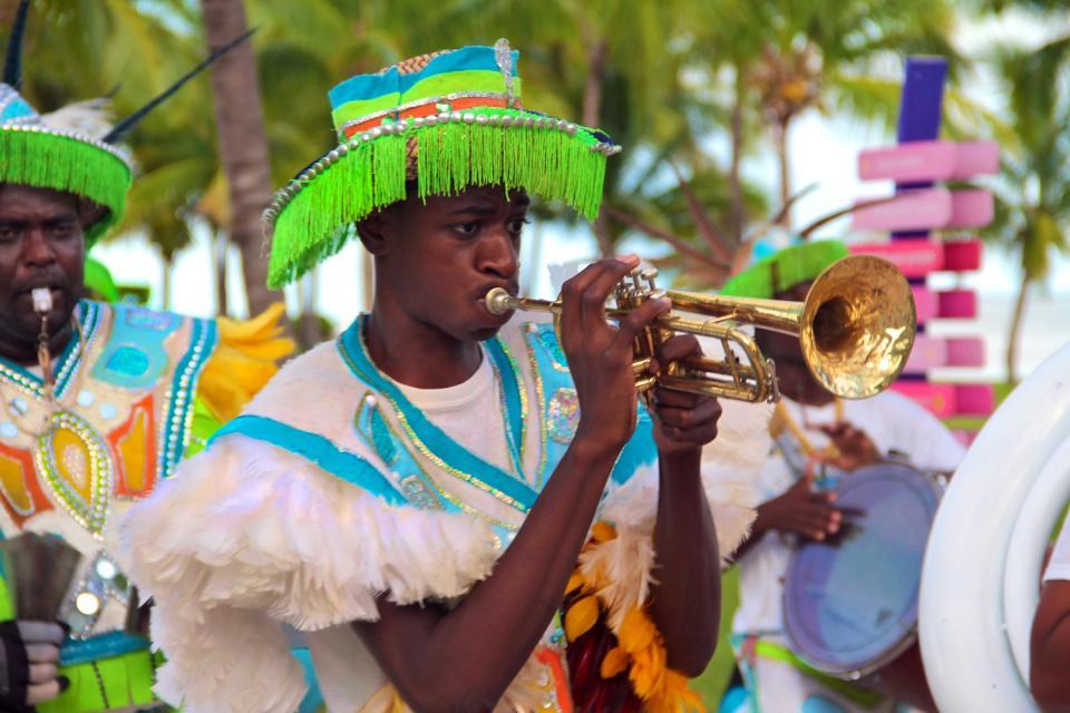 Lo Junkanoo Festival , Il carnevale Junkanoo , Bahamas