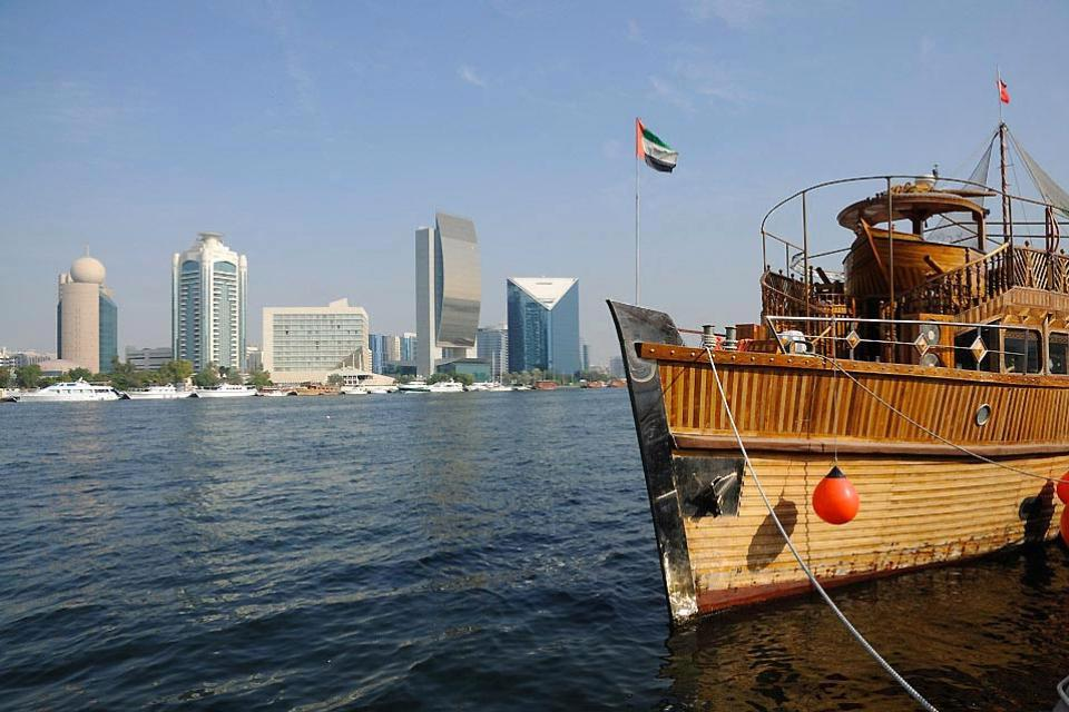 Cruise on the Creek , A cruise on the Creek , United Arab Emirates