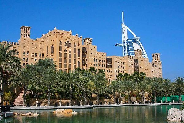 Der Souk Madinat Jumeirah , Dubai und die Emirate