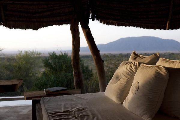 Camping , A luxury lodge in Kenya , Kenya
