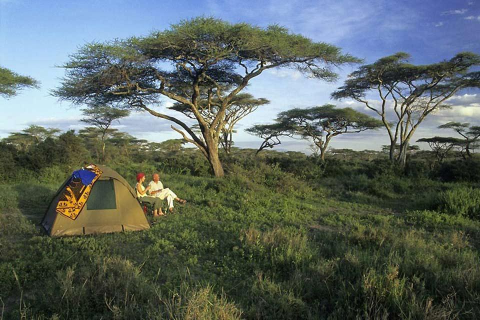 Il campeggio , Kenya