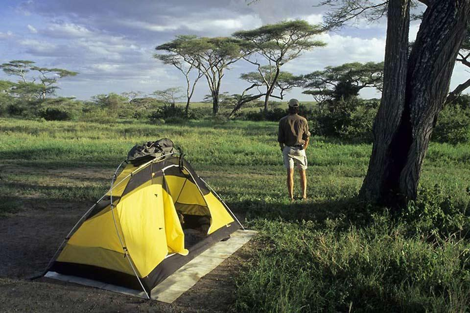 Camping , Camping in the wild , Kenya