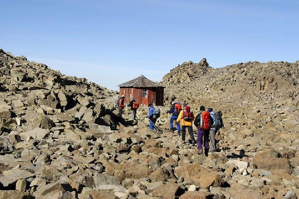 Mount Kenya , Austrian Hut, Mount Kenya National Park , Kenya