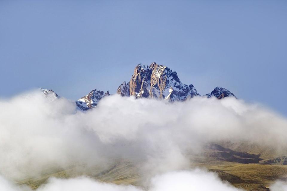 Il Monte Kenya , Kenya