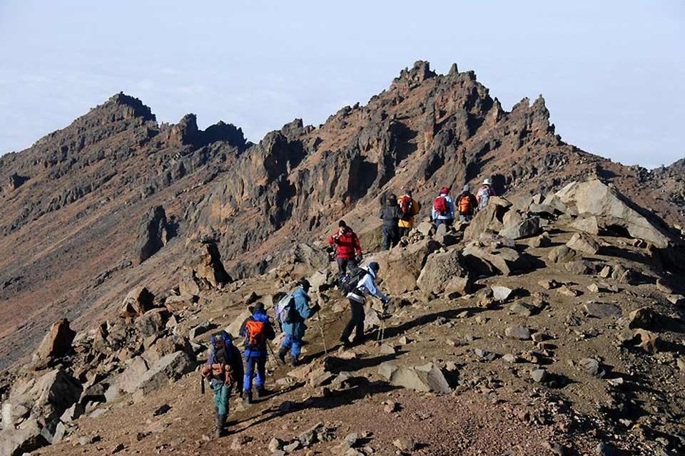 Il Monte Kenya , La punta Batian , Kenya