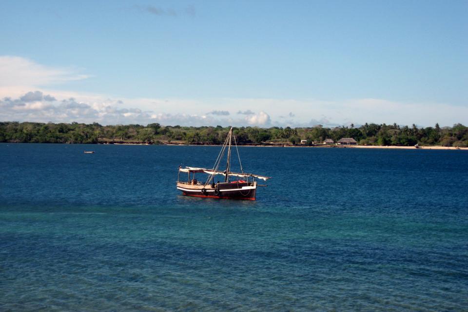 Wasini , Kreuzfahrt im Dau zur Insel Wasini , Kenia