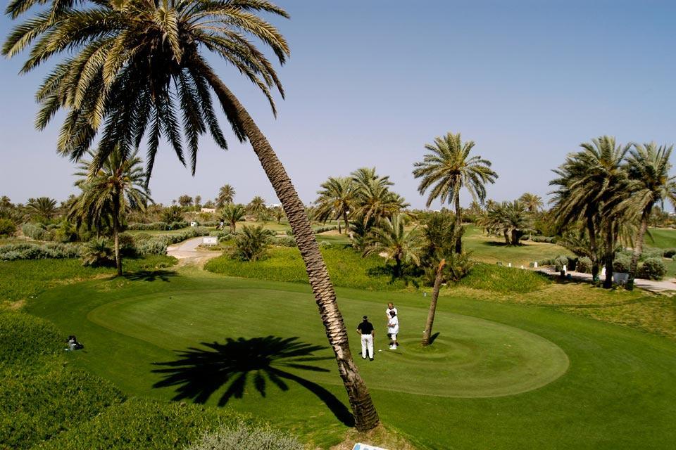 Golf courses , A golf club , Tunisia
