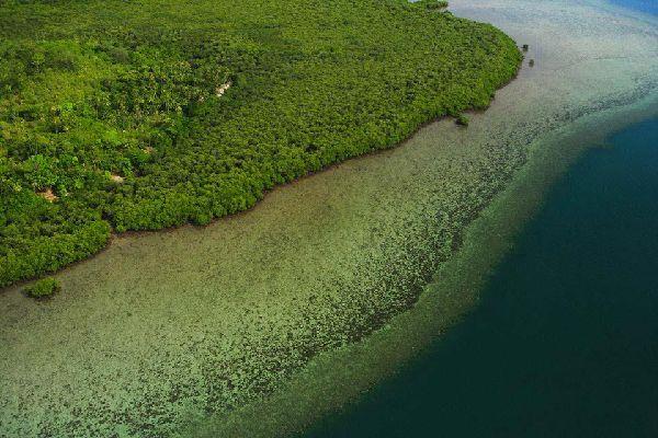 Vanua Levu Island , The coasts of Vanua Levu , Fiji