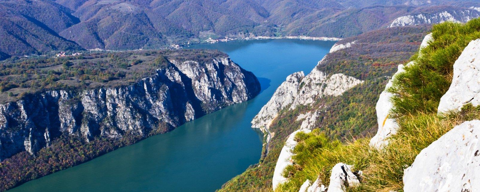 Il Danubio dalla parte serba, Il Danubio, I paesaggi, Serbia