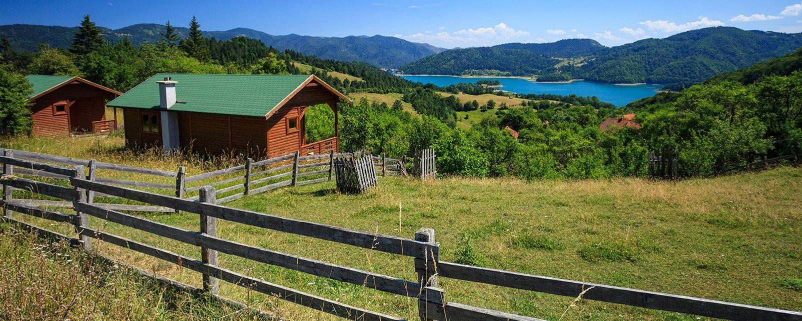 Parco nazionale di Tara, Le montagne, I paesaggi, Serbia
