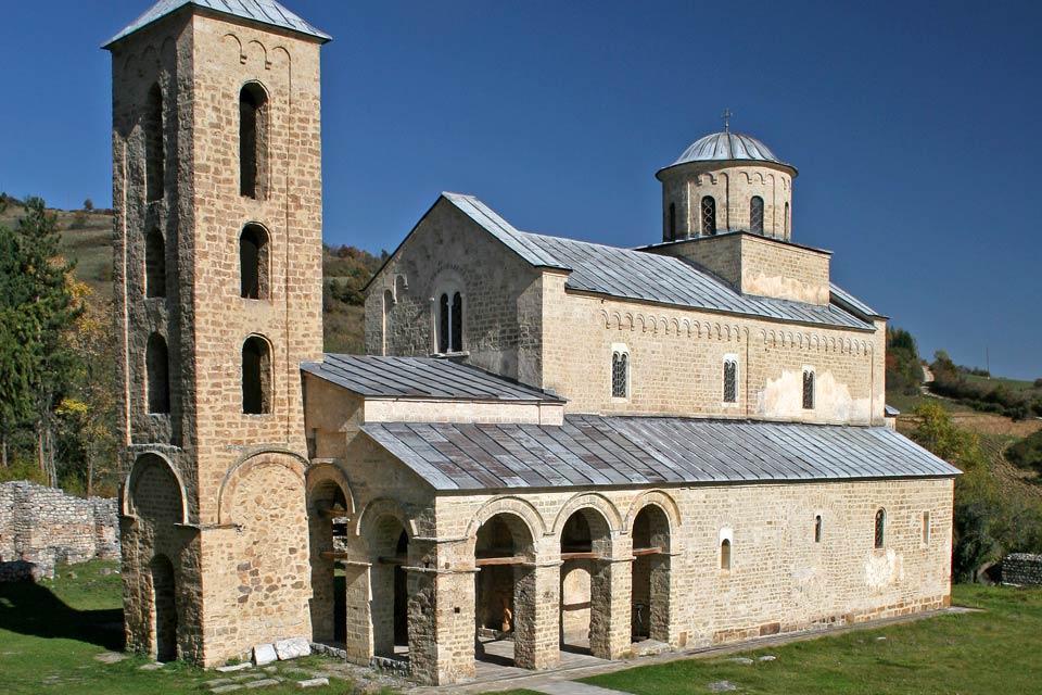 I monasteri ortodossi , Serbia