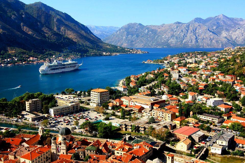 Les bouches de Kotor , Le seul fjord de la Méditerranée , Monténégro
